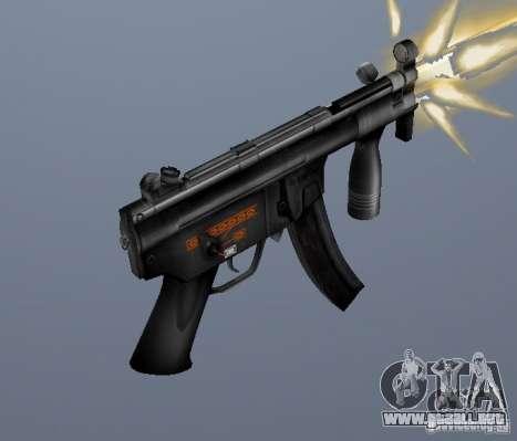 H&K MP5K para GTA San Andreas segunda pantalla