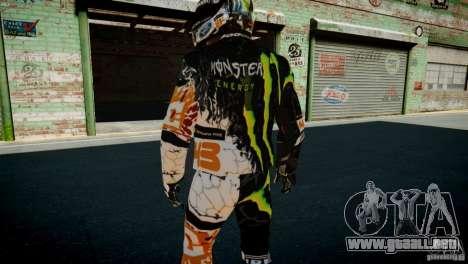 Ken Block Gymkhana 5 Clothes (Unofficial DC) para GTA 4 novena de pantalla