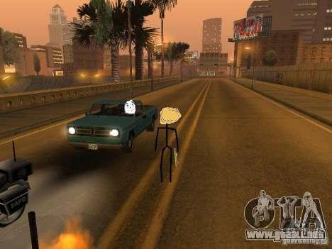 Meme Ivasion Mod para GTA San Andreas octavo de pantalla