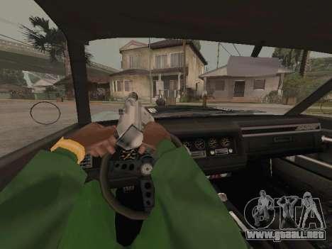 SabreGT de GTA 4 para visión interna GTA San Andreas