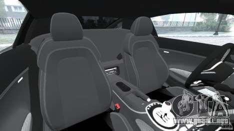Audi R8 V10 2010 para GTA 4 vista interior