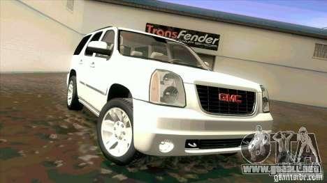 GMC Yukon Denali 2007 para GTA San Andreas left