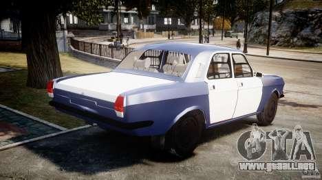 Volga GAZ-2410 1989 v2.1 para GTA 4 vista lateral