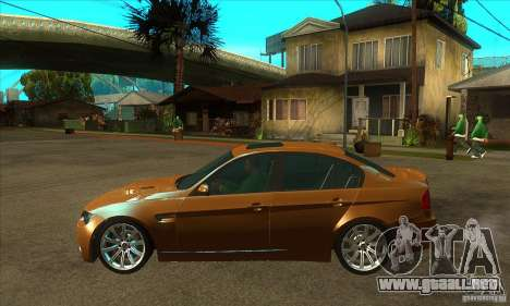 BMW E90 M3 para GTA San Andreas left