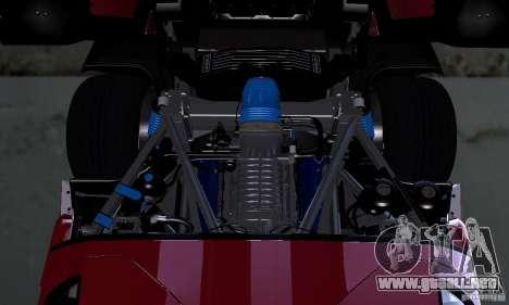 Ford GT 2005 para visión interna GTA San Andreas