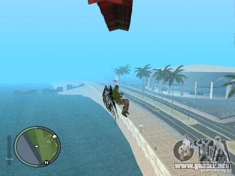 Alas alas para GTA San Andreas quinta pantalla