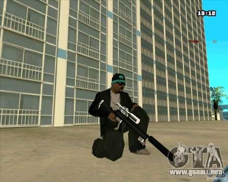 Chrome Weapon Pack para GTA San Andreas sexta pantalla