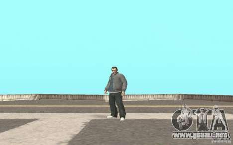 Animación del GTA IV para GTA San Andreas