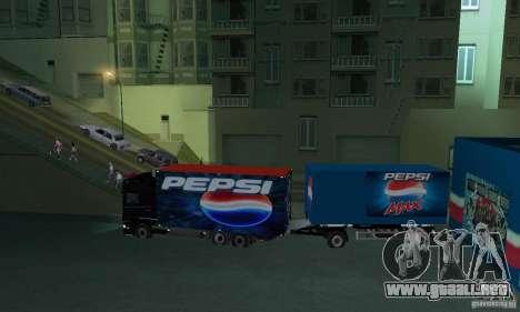 Pepsi Market and Pepsi Truck para GTA San Andreas sucesivamente de pantalla