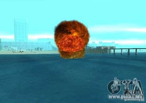 Nuevos efectos de explosiones para GTA San Andreas undécima de pantalla