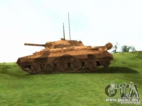 Crusader Mk. III para la visión correcta GTA San Andreas