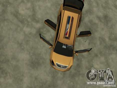 Lexus RX400 New York Taxi para GTA 4 ruedas