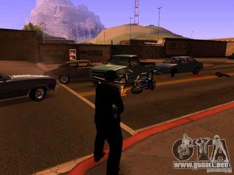 Pancor Jackhammer para GTA San Andreas tercera pantalla