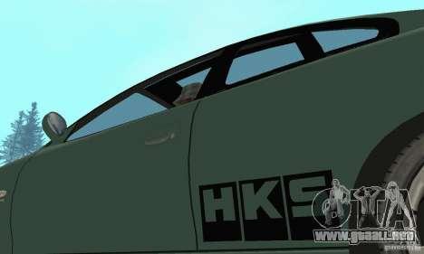 Vauxhall Monaro VXR Open SKY 2004 para vista lateral GTA San Andreas