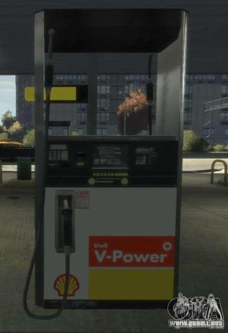Shell Petrol Station para GTA 4 octavo de pantalla