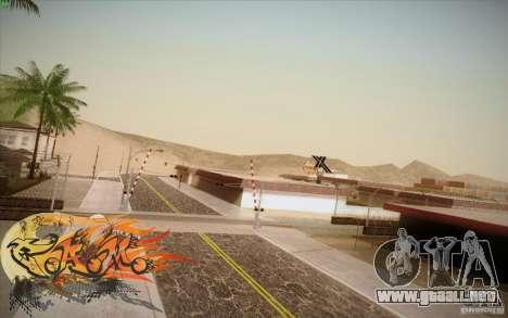 New Roads Las Venturas v1.0 para GTA San Andreas quinta pantalla