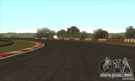 GOKART pista ruta 2 para GTA San Andreas décimo de pantalla