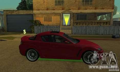 Las luces de neón verdes para GTA San Andreas