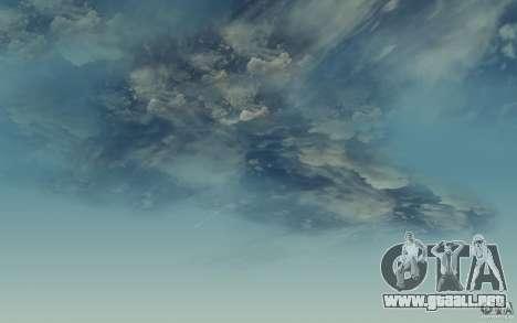Real Sky Efects para GTA San Andreas tercera pantalla
