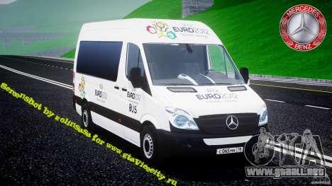 Mercedes-Benz Sprinter Euro 2012 para GTA 4