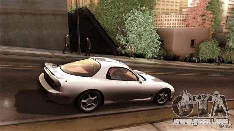 Mazda RX-7 FD 1991 para la visión correcta GTA San Andreas