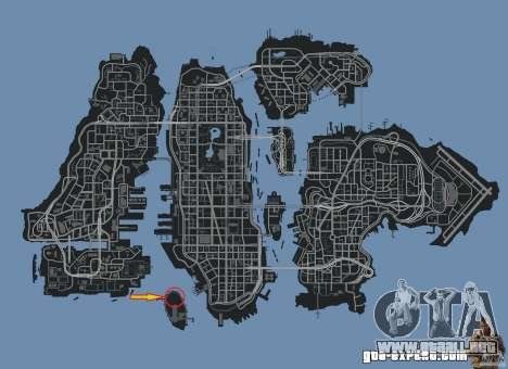 Demolition Derby Arena (Happiness Island) para GTA 4 séptima pantalla
