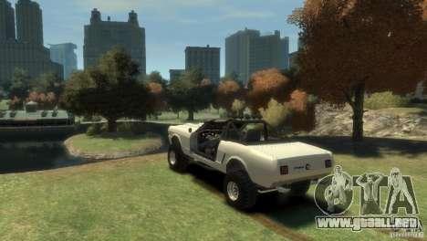 Ford Mustang Sandroadster 1.0 para GTA 4 left