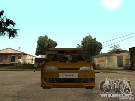 VAZ 2115 policía coches Tuning para la visión correcta GTA San Andreas