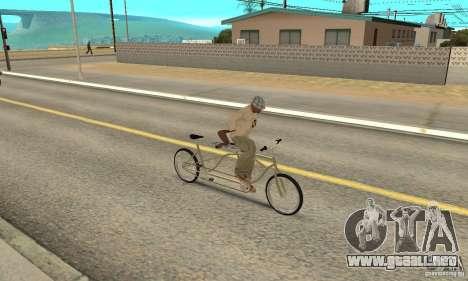 double classic MT Bike para la visión correcta GTA San Andreas