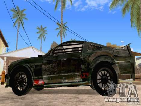 Ford Mustang Death Race para GTA San Andreas left