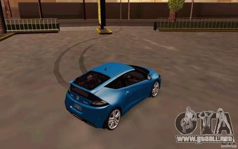 Honda CR-Z 2010 V3.0 para la visión correcta GTA San Andreas
