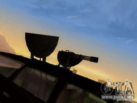 Suv Call Of Duty Modern Warfare 3 para vista lateral GTA San Andreas