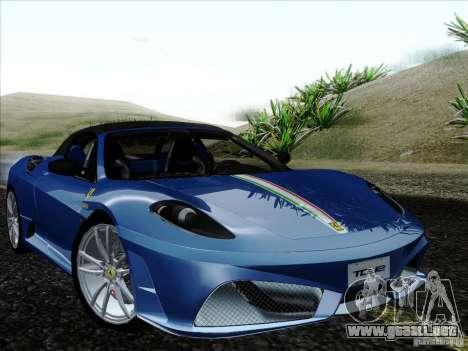 Ferrari F430 Scuderia Spider 16M para el motor de GTA San Andreas
