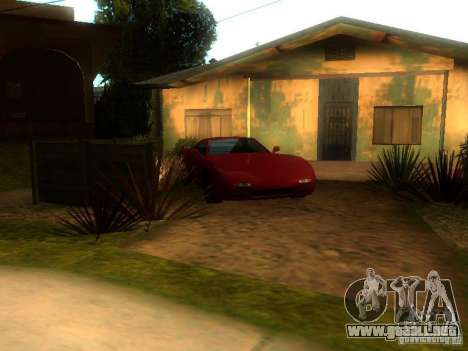 New Car in Grove Street para GTA San Andreas segunda pantalla