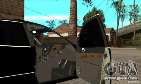 Año 2001 TOYOTA ARISTO para visión interna GTA San Andreas