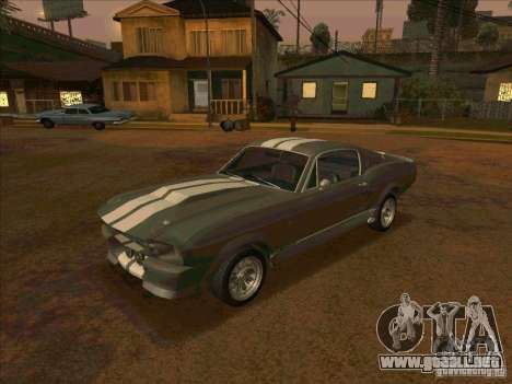 Ford Shelby GT500 Eleanor para GTA San Andreas