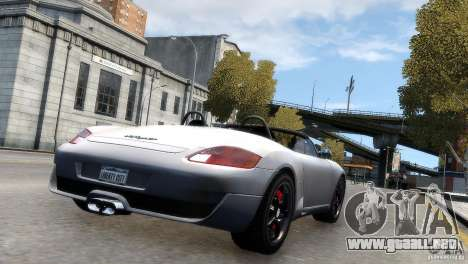 RUF RK Spyder 2006 [EPM] para GTA 4 left