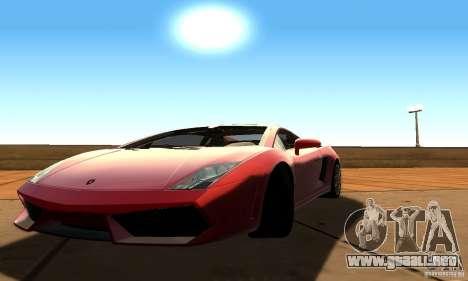 SA DRR Singe v1.0 para GTA San Andreas sucesivamente de pantalla