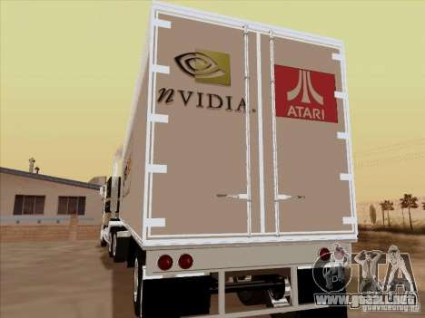 Caband trailer para la visión correcta GTA San Andreas