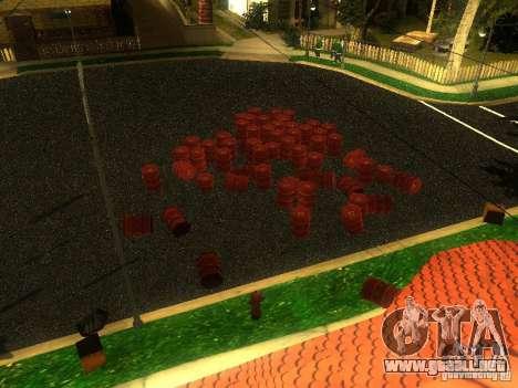 Bomba para GTA San Andreas quinta pantalla