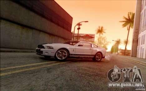SA_DirectX 1.3 BETA para GTA San Andreas tercera pantalla
