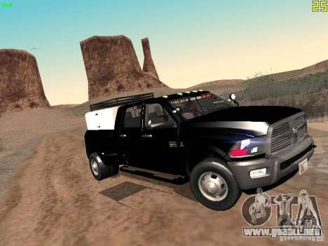 Dodge Ram 3500 Unmarked para GTA San Andreas