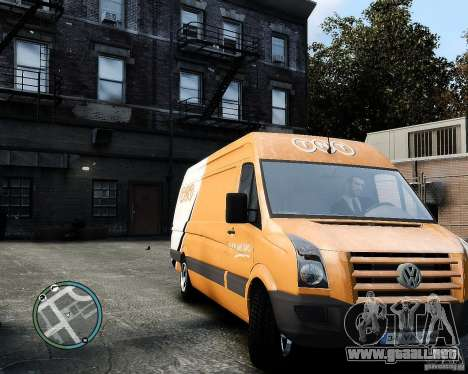 Volkswagen Crafter TNT para GTA 4 left