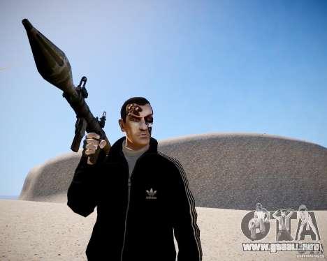 Niko - Terminator para GTA 4 adelante de pantalla