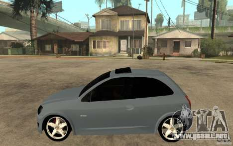 Chevrolet Celta VHC 2011 para GTA San Andreas left