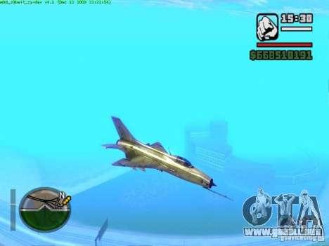 MIG 21 nuevo para GTA San Andreas