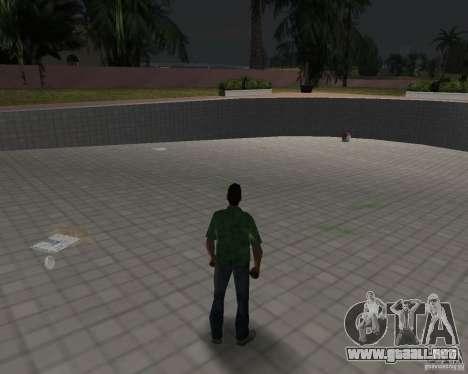 Agua nueva, periódicos, hojas, luna para GTA Vice City séptima pantalla