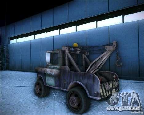 Car Mater para GTA San Andreas left