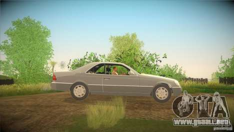 Mercedes Benz 600 SEC para GTA San Andreas left