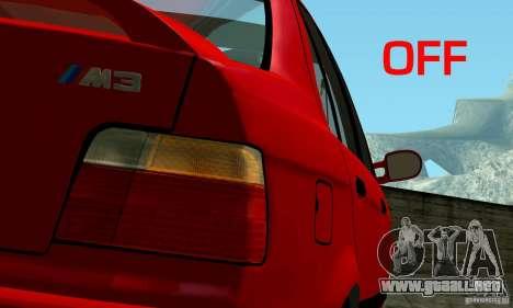 BMW M3 E36 para el motor de GTA San Andreas